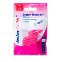 Зубные ёршики Jordan Brush Between Микро (XS) 0,4 мм, 10шт в уп.