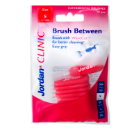 Зубные ёршики Jordan Brush Between Мини (S) 0,5 мм, 10шт в уп.