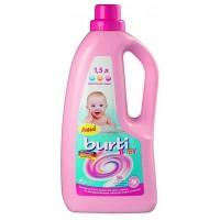 Гель для стирки детского белья Burti Baby, 1,5 литра.