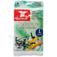 Перчатки резиновые хозяйственные Kuchnik, размер L