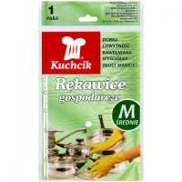 Перчатки резиновые хозяйственные Kuchnik, размер M