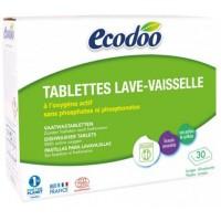 Эко таблетки для посудомоечных машин Ecodoo, 30 шт