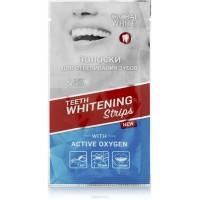 Отбеливающие полоски для зубов Global White, 1 саше