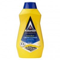 Чистящий крем Astonish Cream Cleaner лимонный взрыв, 500 мл