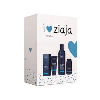 Подарочный набор косметики Ziaja для мужчин (гель для душа 300 мл + успокаивающий крем для лица 50 мл + антиперспирант 60 мл)