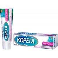 Крем для фиксации зубных протезов Корега Защита Десен, 40г