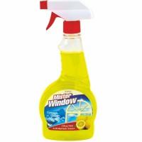 Средство для мытья стекол Mister Window сочный лимон, 750 мл