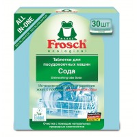 Таблетки для посудомоечных машин Frosch, 30 шт