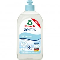 Бальзам для мытья посуды Frosch Zero 0% для чувствительной кожи, 500 мл