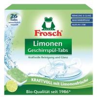 Таблетки для посудомоечной машины Frosch Лимон, 26 шт