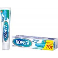 Крем для фиксации зубных протезов Корега Экстра Сильный мятный, 70 г