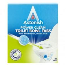 Очищающие таблетки для унитаза Astonish Toilet Bowl Tabs, 10 шт
